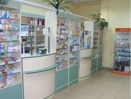 Мебель для аптеки ТМА 1