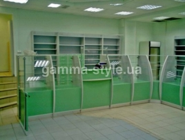 Мебель для аптеки ТМА 16