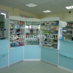 Мебель для аптеки ТМА 2