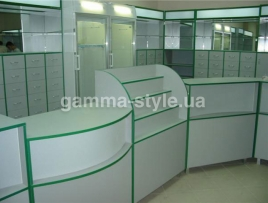 Мебель для аптеки ТМА 5