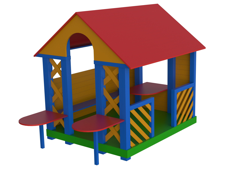 Деревянные изделия для детских площадок