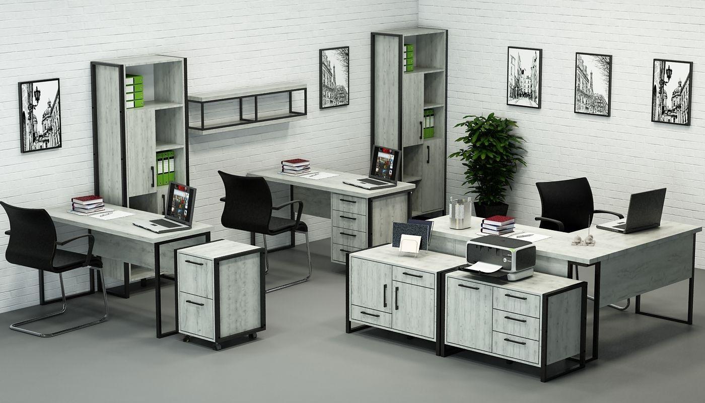Офисная мебель лофт